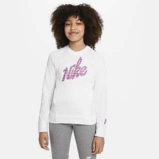 Nike Sportswear Big Kids' (Girls') Graphic Crew
