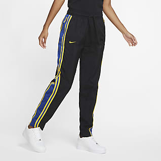 Warriors Courtside Women's Nike NBA Tracksuit Pants