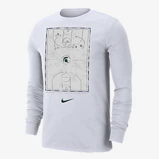 Nike College (Michigan State) Men's Long-Sleeve T-Shirt