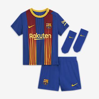 FC Barcelona 2020/21 Fotbollsställ för baby/små barn