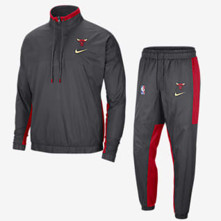 Chicago Bulls City Edition Courtside Nike NBA-Trainingsanzug für Herren