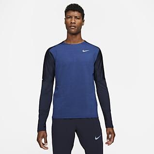 Nike Dri-FIT Camiseta de cuello redondo de running para hombre