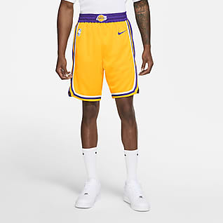 Los Angeles Lakers Icon Edition Short Nike NBA Swingman pour Homme