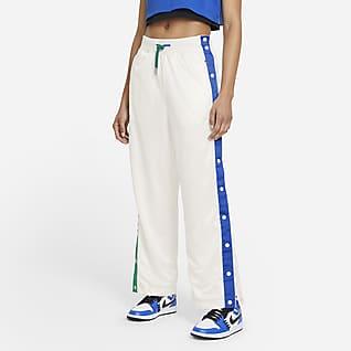 Jordan x Aleali May Pantalones con cierre de botones en laterales para mujer