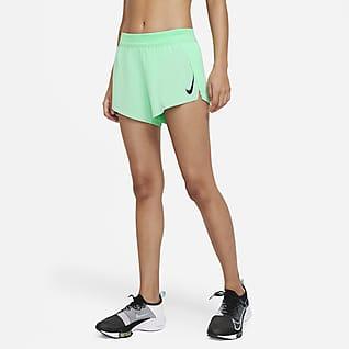 Nike AeroSwift Løbeshorts til kvinder