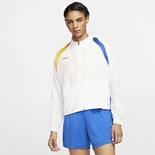 Nike F.C. Voetbaljack met rits voor dames