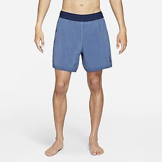 Nike Yoga Dri-FIT กางเกงขาสั้น 2-in-1 ผู้ชาย