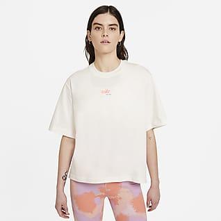 Nike Sportswear Playera de corte cuadrado para mujer