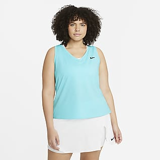 NikeCourt Victory Canotta da tennis (Plus size) - Donna
