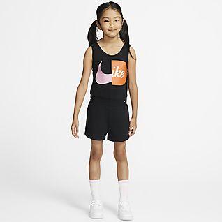 Nike Little Kids' Sleeveless Romper