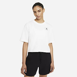 Jordan Essentials Γυναικείο T-Shirt σε φαρδιά γραμμή