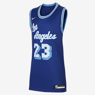 LeBron James Lakers Classic Edition Older Kids' Nike NBA Swingman Jersey