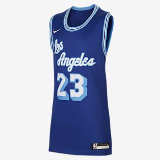LeBron James Lakers Classic Edition Nike Swingman NBA-jersey voor kids