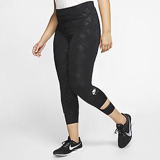 Italily Donna Leggings Vita Media Stampato Yoga Stretch Sport Fitness Pantaloni Sette Punti Collant Training Elastico Casual Leggings