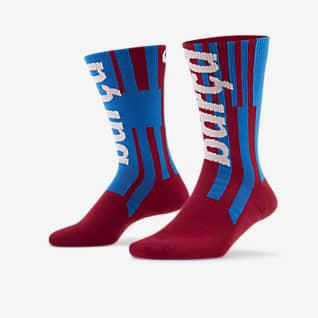 FC Barcelona SNKR Sox Chaussettes de football mi-mollet