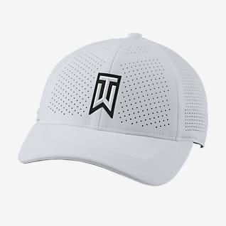 Nike AeroBill Tiger Woods Heritage86 Gorra de golf con perforaciones