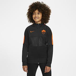 A.S. Roma Chamarra de entrenamiento de fútbol para niños