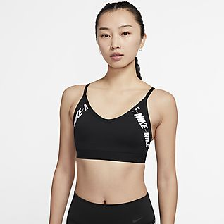 Nike Indy Logo 女子低强度支撑运动内衣