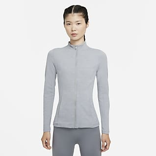 Nike Yoga Luxe Dri-FIT เสื้อแจ็คเก็ตซิปยาวผู้หญิง
