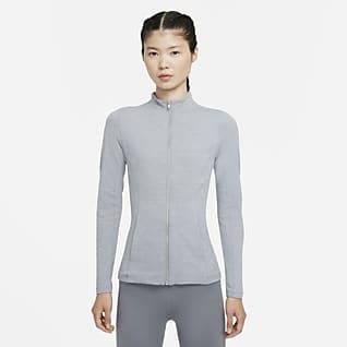 Nike Yoga Luxe Dri-FIT 女款全長式拉鍊外套