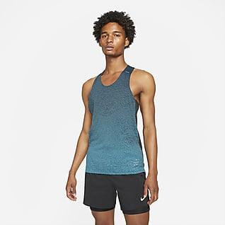 Nike Run Division Pinnacle Haut de running sans manches pour Homme