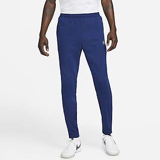 Nike Therma Fit Academy Winter Warrior Męskie dzianinowe spodnie piłkarskie