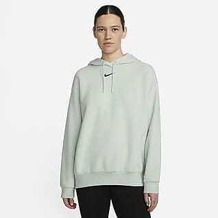 Nike Sportswear Essentials Γυναικεία μαλακή μπλούζα με κουκούλα