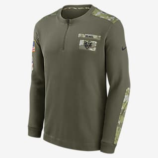 Nike Dri-FIT Salute to Service (NFL Chicago Bears) Men's Thermal Long-Sleeve Top
