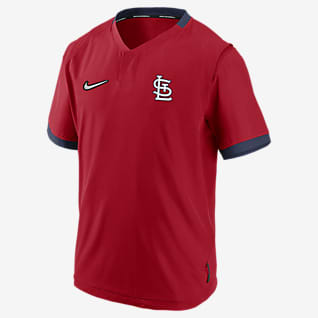 Nike Hot (MLB St. Louis Cardinals) Men's Short-Sleeve Jacket