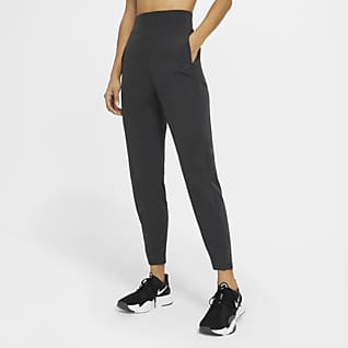 Nike Dri-FIT Bliss Victory Pantalones de entrenamiento de tiro medio para mujer