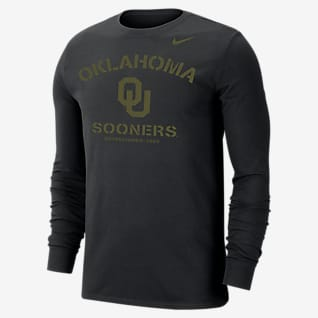 Nike College Dri-FIT (Oklahoma State) Men's Long-Sleeve T-Shirt