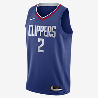 Kawhi Leonard Clippers Icon Edition 2020 Maglia Swingman Nike NBA