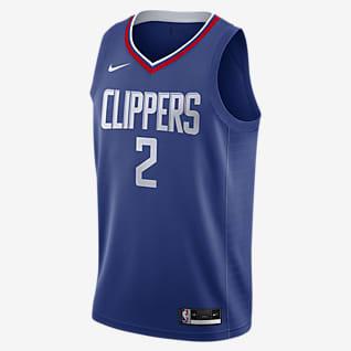 Kawhi Leonard Clippers Icon Edition 2020 Maillot Nike NBA Swingman