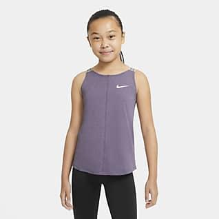 Nike Dri-FIT Tréninkové tílko pro větší děti (dívky)