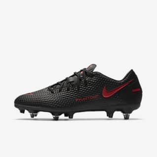 Nike Phantom GT Academy SG-Pro AC Fotballsko til vått gress