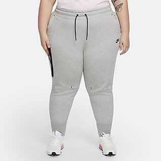Nike Sportswear Tech Fleece Byxor för kvinnor (stora storlekar)