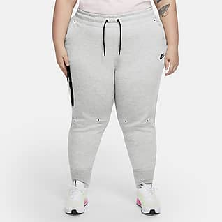 Nike Sportswear Tech Fleece Pantaloni (Plus Size) - Donna
