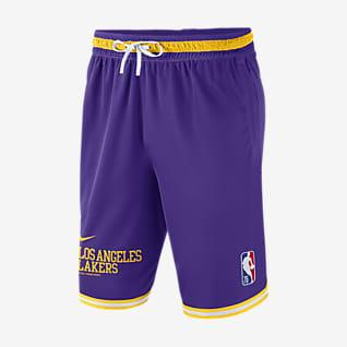 Los Angeles Lakers Courtside DNA กางเกงขาสั้น Nike NBA ผู้ชาย