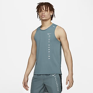 Nike Miler Run Division Camiseta de tirantes de running híbrido para hombre