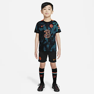 Chelsea F.C. 2021/22 Third Younger Kids' Football Kit