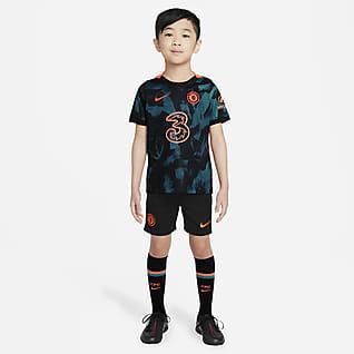 Tercera equipació Chelsea FC 2021/22 Equipació de futbol - Nen/a petit/a