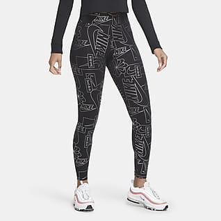 Nike Sportswear Icon Clash Leggings med høj talje til kvinder