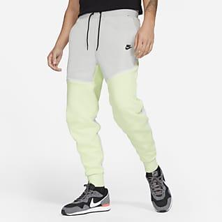 Nike Sportswear Tech Fleece Calças de jogging entrançadas para homem