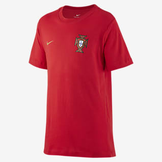 Portugal Fotbolls-t-shirt för ungdom
