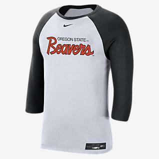 Nike College Dri-FIT (Oregon State) Men's 3/4-Sleeve T-Shirt