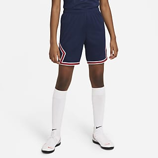 Paris Saint-Germain de local Stadium 2021/22 Shorts de fútbol para niños talla grande