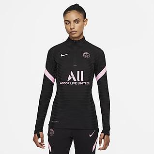 Paris Saint-Germain Strike Elite Away Nike Dri-FIT ADV Fußball-Drill-Oberteil für Damen