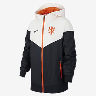 Нидерланды Windrunner Куртка из тканого материала для школьников