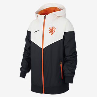 Netherlands Windrunner Older Kids' Woven Jacket