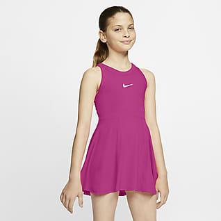 NikeCourt Dri-FIT Teniszruha nagyobb gyerekeknek (lányok)